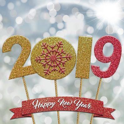 नव वर्ष की हार्दिक शुभकामनाएँ | हैप्पी न्यू इयर 2019
